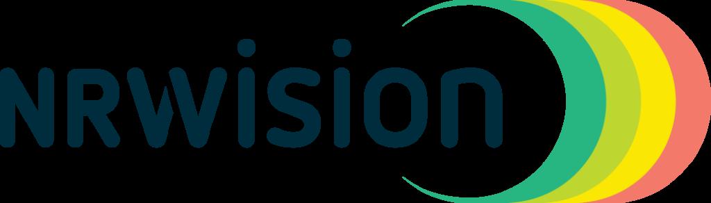 nrwision logo dunkleschrift